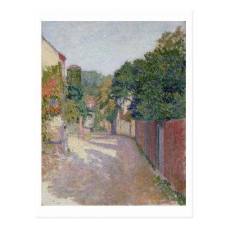Cartão Postal Pista da vila (óleo em canvas)