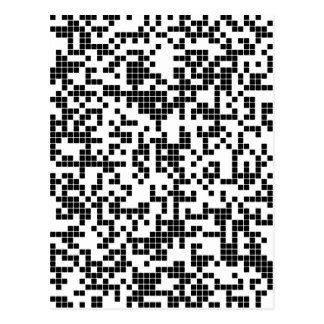Cartão Postal pixel