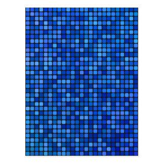 Cartão Postal pixel quadrado