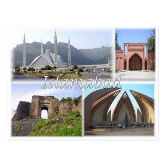 Cartão Postal PK Paquistão - Islamabad -