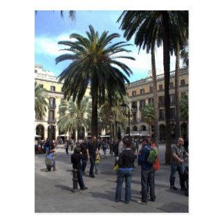 Cartão Postal Plaça Reial, Barcelona