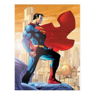 Cartão Postal Planeta diário do superman