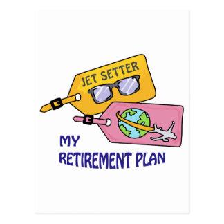 Cartão Postal Plano de aposentação