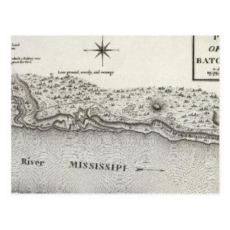 Cartão Postal Plano do forte Baton Rouge
