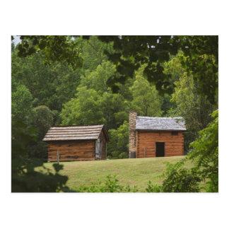 Cartão Postal Plantação de Booker T Washington