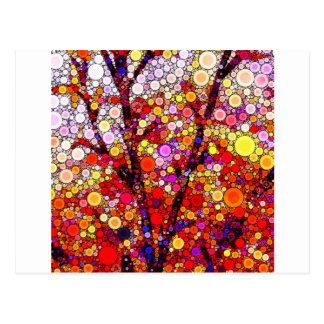 Cartão Postal Plantando árvores de cereja