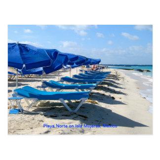 Cartão Postal Playa Norte, Isla Mujeres, México