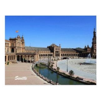 Cartão Postal Plaza de España, Sevilha
