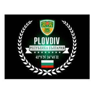 Cartão Postal Plovdiv