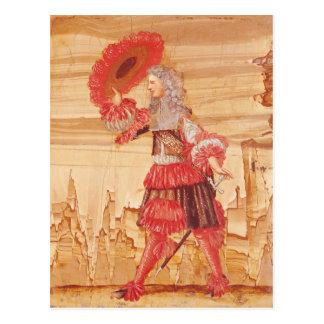 Cartão Postal Pocquelin no papel de Mascarille