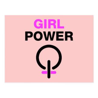 Cartão Postal Poder da menina