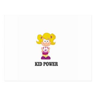 Cartão Postal poder do miúdo yeah