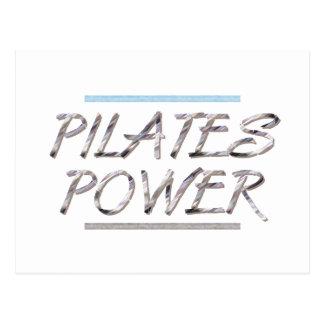 Cartão Postal Poder SUPERIOR de Pilates
