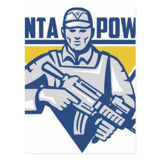 Cartão Postal Poder ucraniano da junta do exército