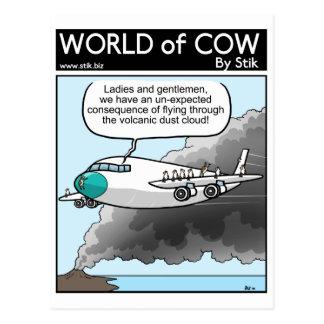 Cartão Postal Poeira da vaca