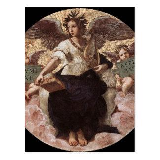"""Cartão Postal Poesia, da """"de Raphael de Segnatura do della"""