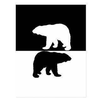 Cartão Postal Polarbear