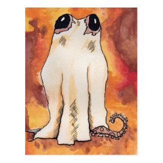 Cartão Postal Polvo do fantasma