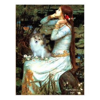 Cartão Postal Pomeranian (parti2) - Mona Lisa