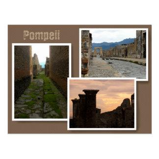 Cartão Postal Pompeii