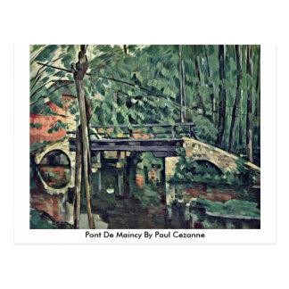 Cartão Postal Pont De Maincy Paul Cezanne