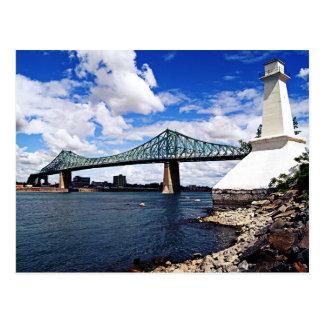 Cartão Postal Pont Jacques Cartier