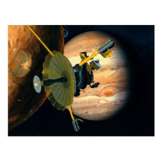 Cartão Postal Ponta de prova de Jupiter e de Lo Galileo