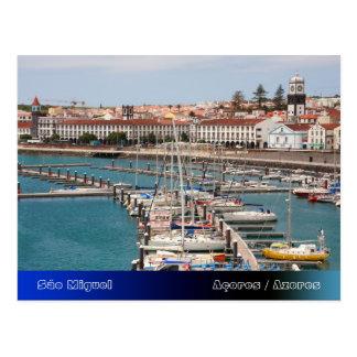 Cartão Postal Ponta Delgada - Açores