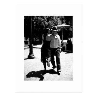 Cartão Postal Pontapé do tango