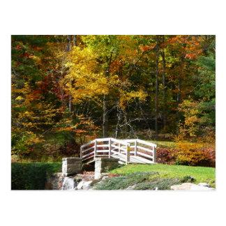 Cartão Postal Ponte da queda de sete primaveras mim foto da