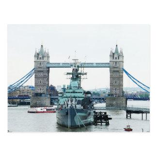 Cartão Postal Ponte da torre