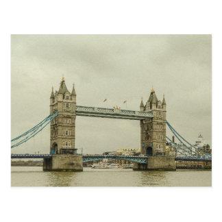 Cartão Postal Ponte da torre do vintage