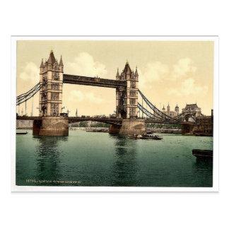 Cartão Postal Ponte da torre, III. (abra), pH raro de Londres,