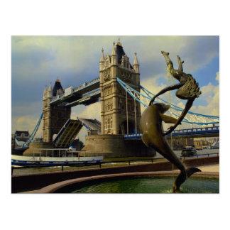 Cartão Postal Ponte da torre, Londres