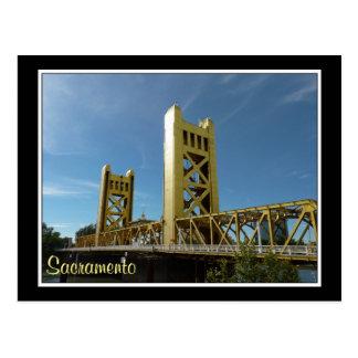 Cartão Postal Ponte da torre, Sacramento