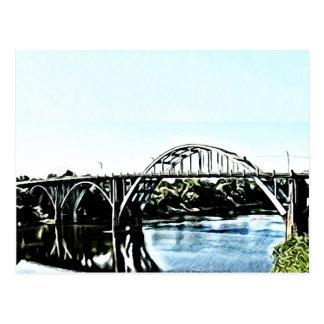Cartão Postal Ponte de Alabama Edmund Pettus