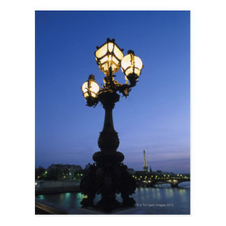Cartão Postal Ponte de Alexandre III em Paris