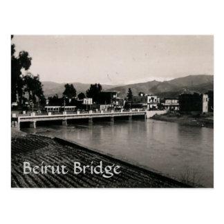 Cartão Postal Ponte de Beirute