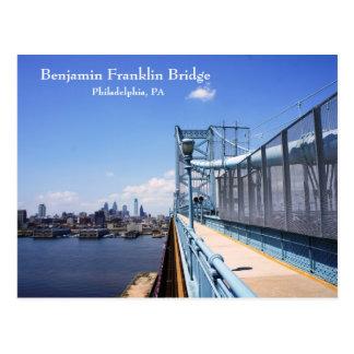 Cartão Postal Ponte de Benjamin Frankling