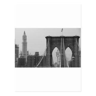 Cartão Postal Ponte de Brooklyn