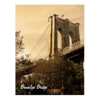 Cartão Postal Ponte de Brooklyn de Brooklyn (a personalize!)