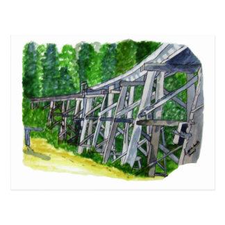 Cartão Postal Ponte de cavalete