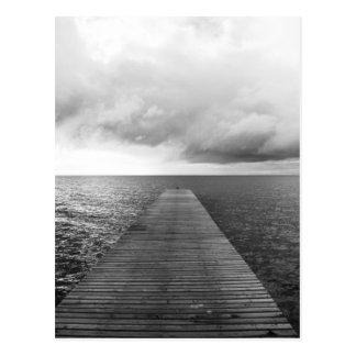 Cartão Postal Ponte de lago
