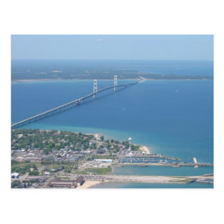 Cartão Postal Ponte de Mackinac