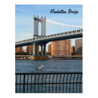 Cartão Postal Ponte de Manhattan