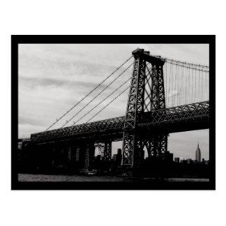 Cartão Postal Ponte de NYC