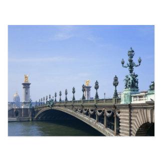 Cartão Postal Ponte de Pont Alexandre-IIi