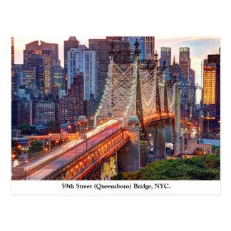 Cartão Postal Ponte de Queensboro, New York