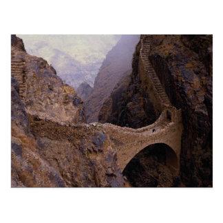 Cartão Postal Ponte de Shahara, 9000 ft. falha, Yemen