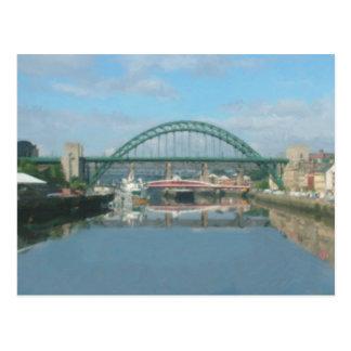 Cartão Postal ponte de tyne (luz do dia)